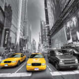 AG Design Fototapete Yellow Cab FTS1310