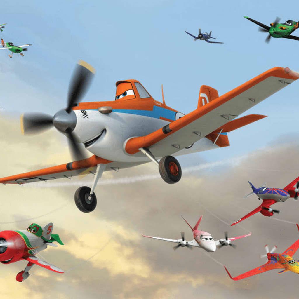 Afbeelding van AG Design Fotobehang Planes FTD2218
