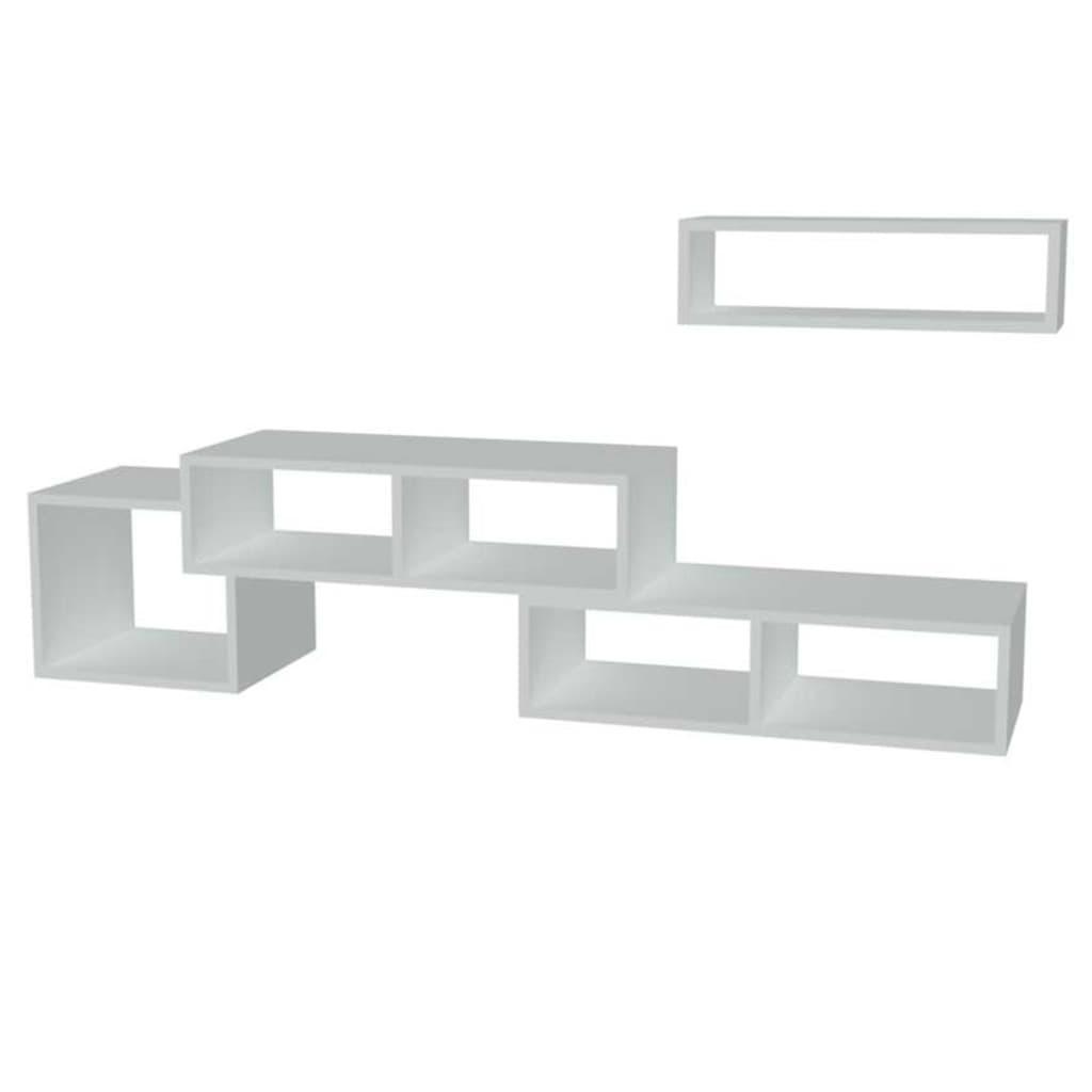 Homemania Szafka pod telewizor Armonia, 170 x 29,5 x 41,8 cm, biała