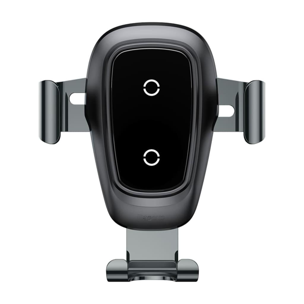 Afbeelding van ANDERSEN Baseus iPhone 8 Plus Original Gravity Metal Wireless Car Charger Black