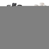 Pure2Improve RWLK Gants de gardien de but Hybrid Noir 8 P2I990042