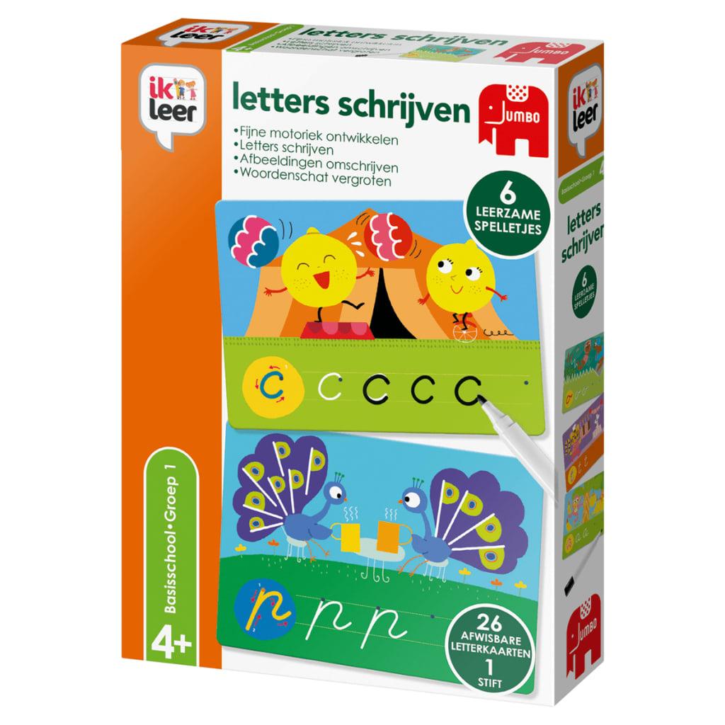 Jumbo Ik Leer Letters Schrijven Leerspel