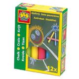 Ses 12 pièces de couleur craie