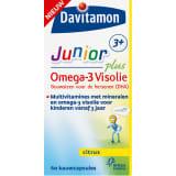 Davitamon Junior 3+ Kauwtabletten - Omega-3 Visolie 60 stuks