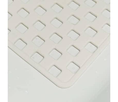 Sealskin veiligheidsmat Doby 75 x 38 cm wit 312005210[3/4]