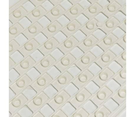 Sealskin veiligheidsmat Doby 75 x 38 cm wit 312005210[4/4]