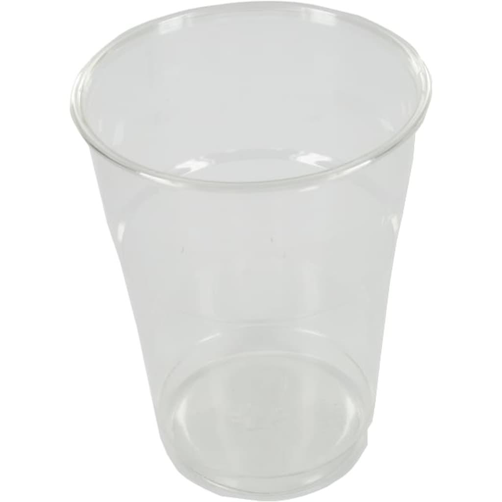 Afbeelding van DIVERSEN Glas, bier /frisdrankglas, tulp, PET, 400ml, 125mm, transparant