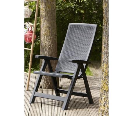 Acheter Allibert Chaise De Jardin Inclinable Montreal Graphite