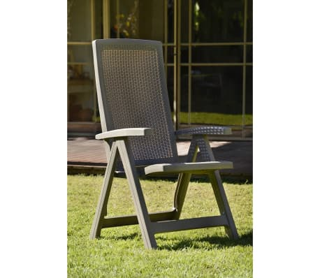 acheter allibert chaise de jardin inclinable montreal cappuccino 223476 pas cher. Black Bedroom Furniture Sets. Home Design Ideas