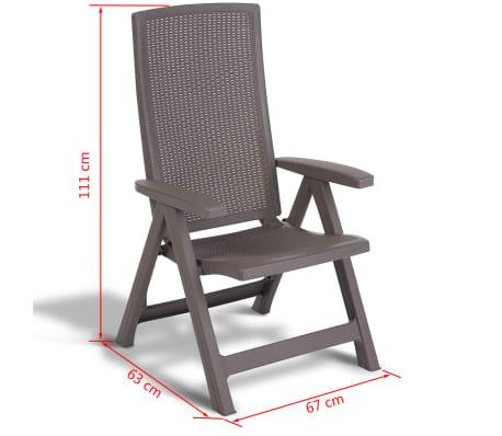 acheter allibert chaise de jardin inclinable montreal cappuccino 223476 pas cher. Black Bedroom Furniture Sets. Home Design Ideas