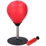 Lifetime Games boksbal - op standaard - met zuignap, veer en pomp