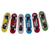 No Fear skateboard tekst 120 x 127 x 430 mm blauw
