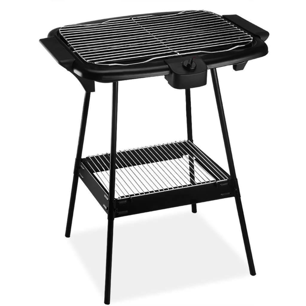 Afbeelding van Cuisinier Deluxe Elektrische Barbecue 2000 W (zwart)