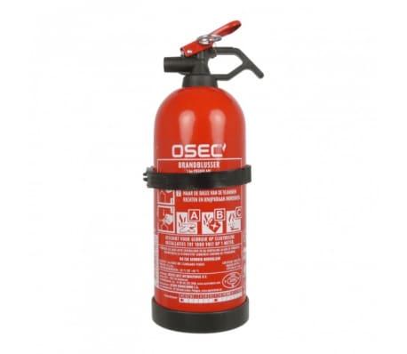 Carpoint brandblusser ABC met houder 1kg rood 29,4cm