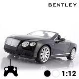 Voiture Télécommandée Décapotable Bentley Continental GT - Noir