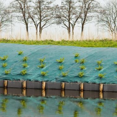 Nature Plėvelė nuo piktžolių, iš audinio, 4,2x5 m, žalia, 6030308[2/4]