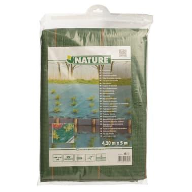 Nature Plėvelė nuo piktžolių, iš audinio, 4,2x5 m, žalia, 6030308[4/4]