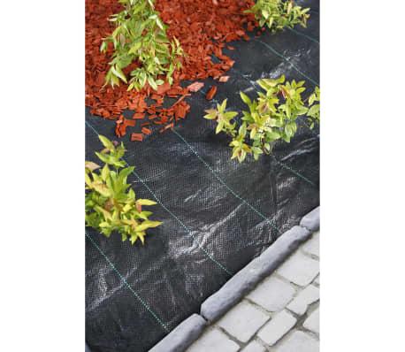 Nature Plėvelė nuo piktžolių, audinys, 1x25m, juoda, 6030320[2/3]