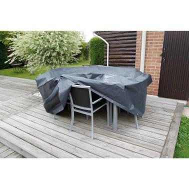 Nature Sodo baldų uždangalas 90 x 325 cm PE tamsiai pilkas, 6030601[2/3]