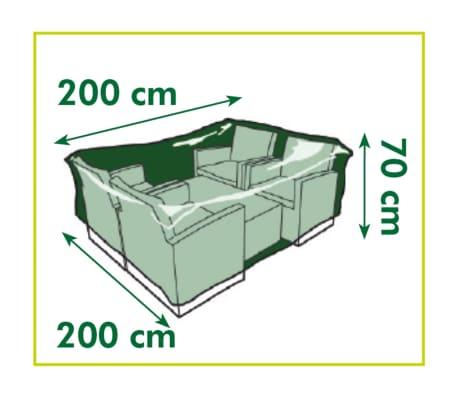 Nature Sodo baldų uždangalas, 200x200x70cm[4/4]