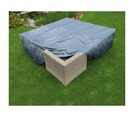 Nature Sodo baldų uždangalas, 325x205x70cm, PE, pilkas, 6031611[2/4]