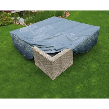 Nature Housse de meubles de jardin pour table et chaises 325x205x70 cm[2/4]