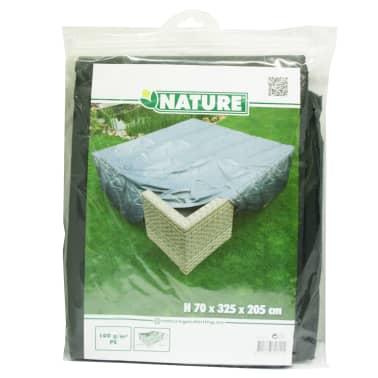 Nature Housse de meubles de jardin pour table et chaises 325x205x70 cm[3/4]