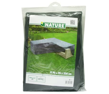 Nature sodo baldų uždangalas, L formos, PE, 250x90x90 cm[3/4]