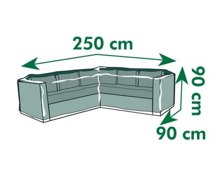 Nature funda protectora para muebles de jard n forma de l for Fundas para sillas de jardin