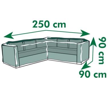 Nature sodo baldų uždangalas, L formos, PE, 250x90x90 cm[4/4]