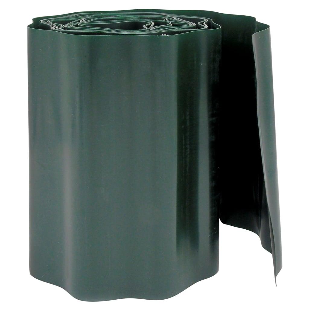 Nature Bordură de grădină, verde, 0,2 x 9 m imagine vidaxl.ro