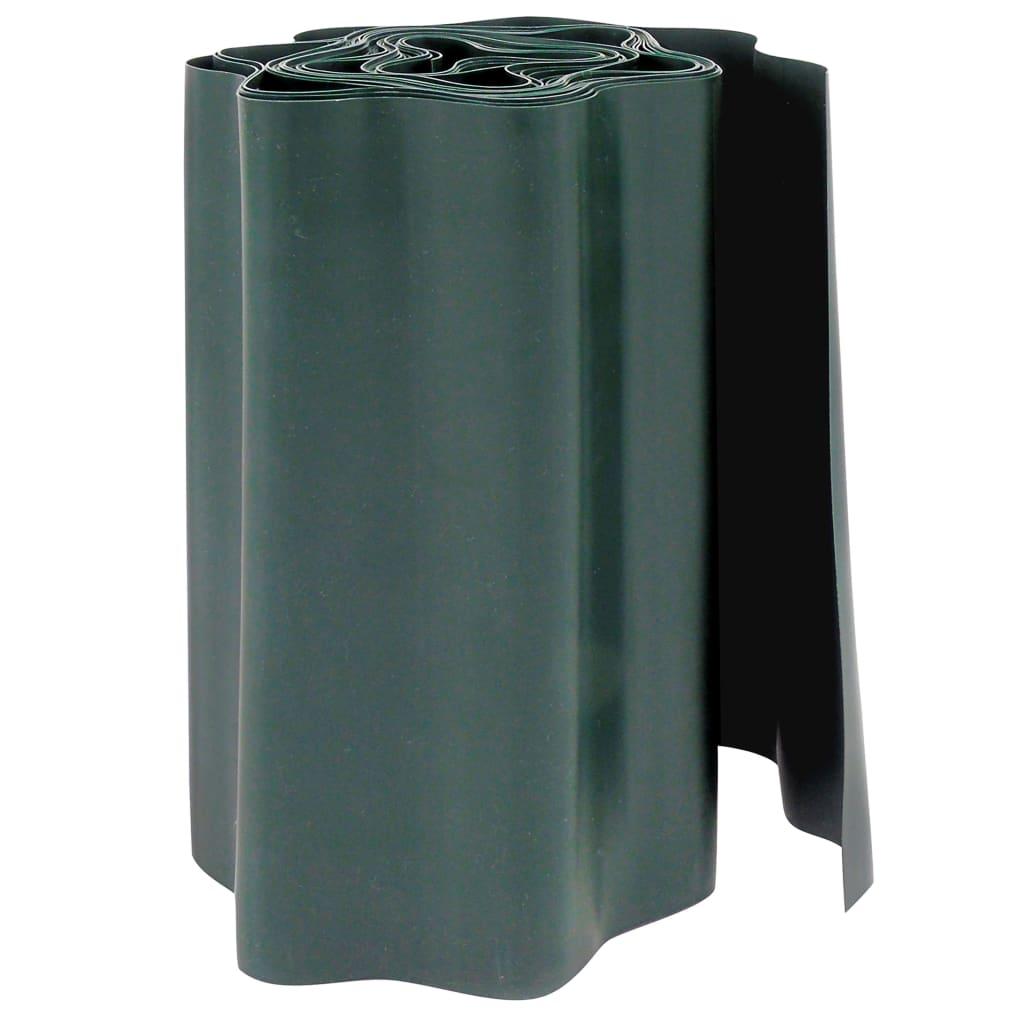 Nature Bordură de grădină, verde, 0,25 x 9 m imagine vidaxl.ro
