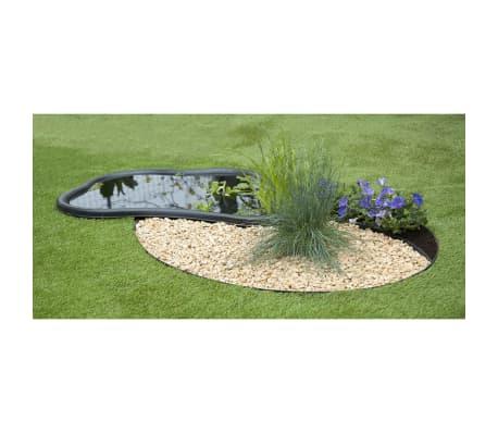 Nature obrzeża trawnikowe 500x9 cm czarne 6040607[2/11]