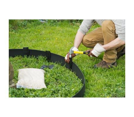Nature obrzeża trawnikowe 500x9 cm czarne 6040607[6/11]