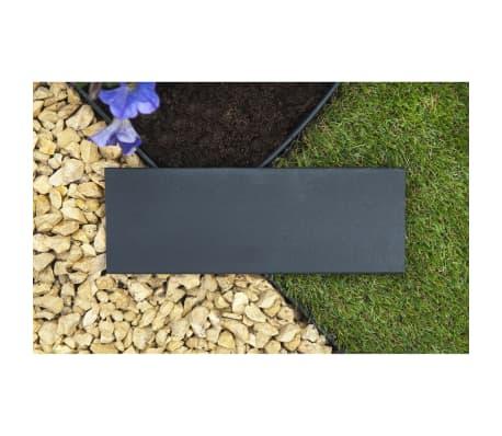 Nature obrzeża trawnikowe 500x9 cm czarne 6040607[9/11]