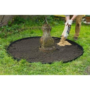 Nature obrzeża trawnikowe 500x9 cm czarne 6040607[4/11]