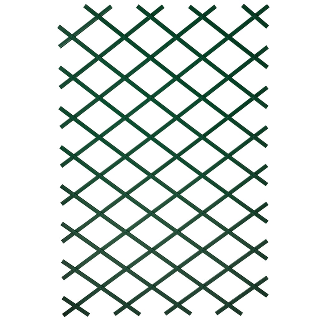 Nature Gard de grădină tip Trellis, 50 x 150 cm PVC, verde, 6040702 vidaxl.ro