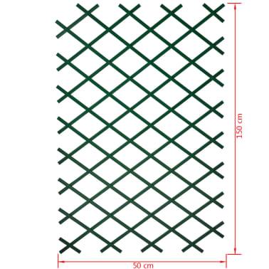 Nature Tuinlatwerk 50x150 cm PVC groen 6040702[4/4]