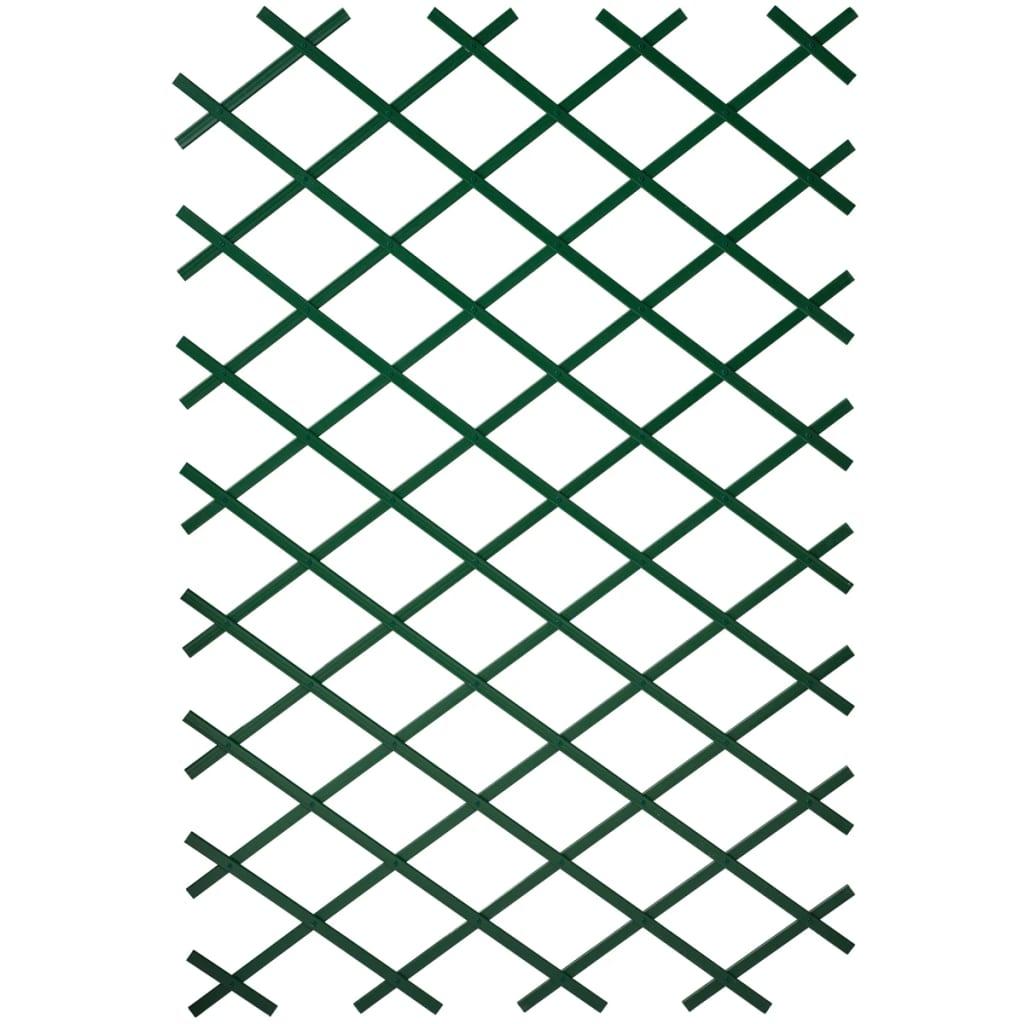 Nature Spalier de grădină, verde, 100 x 300 cm, PVC imagine vidaxl.ro