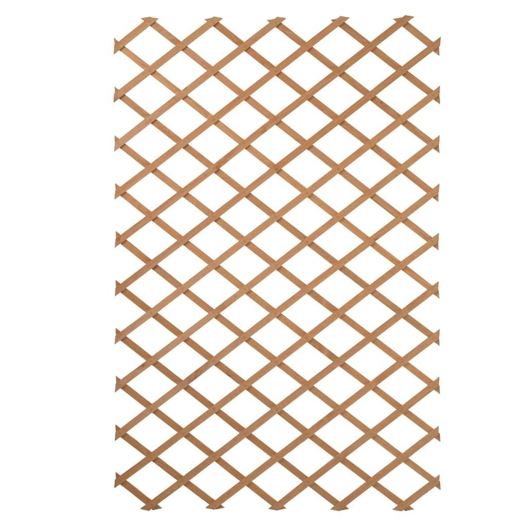 Nature Zahradní treláž 100 x 200 cm dřevo přírodní 6041703