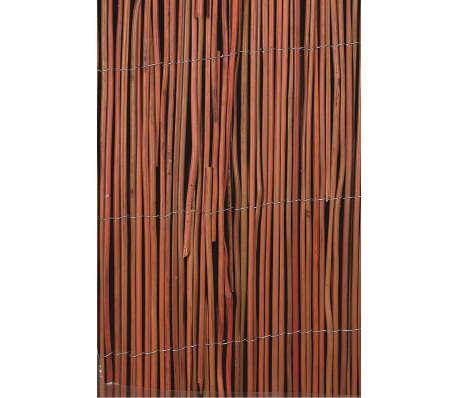 acheter brise vue en saule 1 x 5 m nature 6050170 pas cher. Black Bedroom Furniture Sets. Home Design Ideas