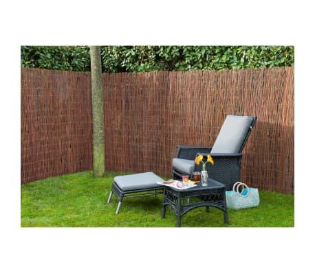 Nature Projection de jardin 500 x 150 cm en saule[3/4]