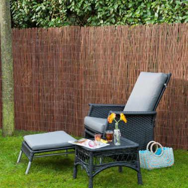 Nature Clôture de jardin Osier 5 mm 2 x 5 m 6050172 | vidaXL.fr