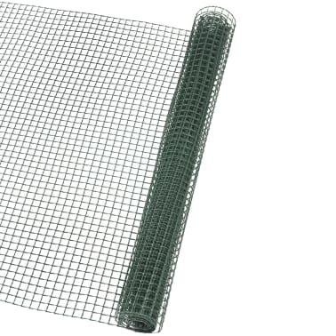 Nature Brise-vue en maille carré 10x10 mm 1x3 m Vert[1/4]
