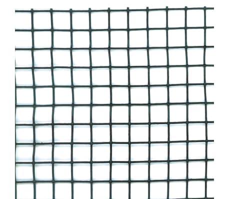 Nature Brise-vue en maille carré 10x10 mm 1x3 m Vert[2/4]