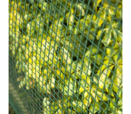 Nature Brise-vue en maille carré 10x10 mm 1x3 m Vert[4/4]