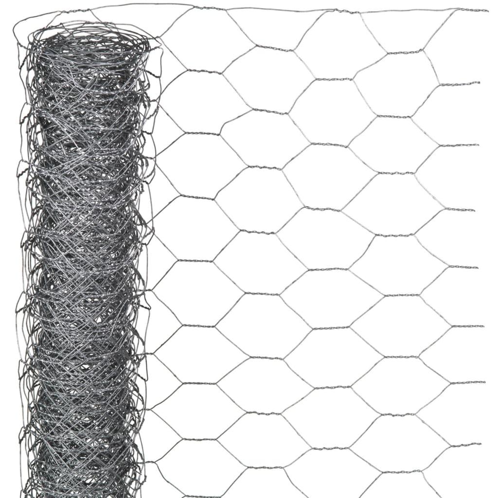 Nature Drátěné pletivo šestiúhelníkové 1 x 5 m 13 mm pozinkovaná ocel