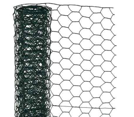 Nature Alambrada hexagonal 0,5x5 m 25 mm acero recubrimiento plástico[1/2]