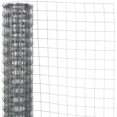 Nature Grillage métallique de clôture de jardin Carré Gris 6050250[1/4]