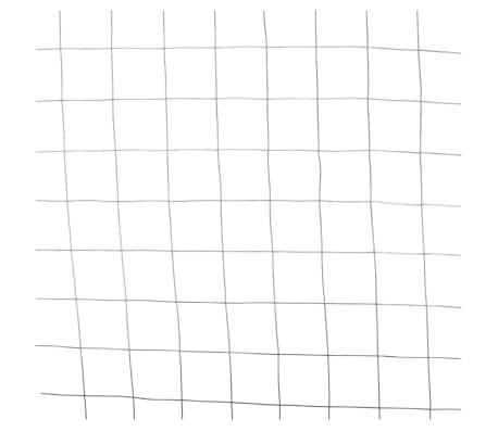 Nature Grillage métallique de clôture de jardin Carré Gris 6050250[2/4]